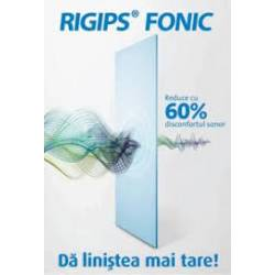 PLACA GIPS CARTON ACUSTICA RIGIPS FONIC TIP D RIGIPS placa 3,12 mp
